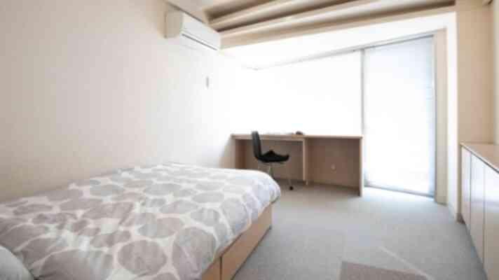 アミーダヨガアカデミーの宿泊施設の部屋